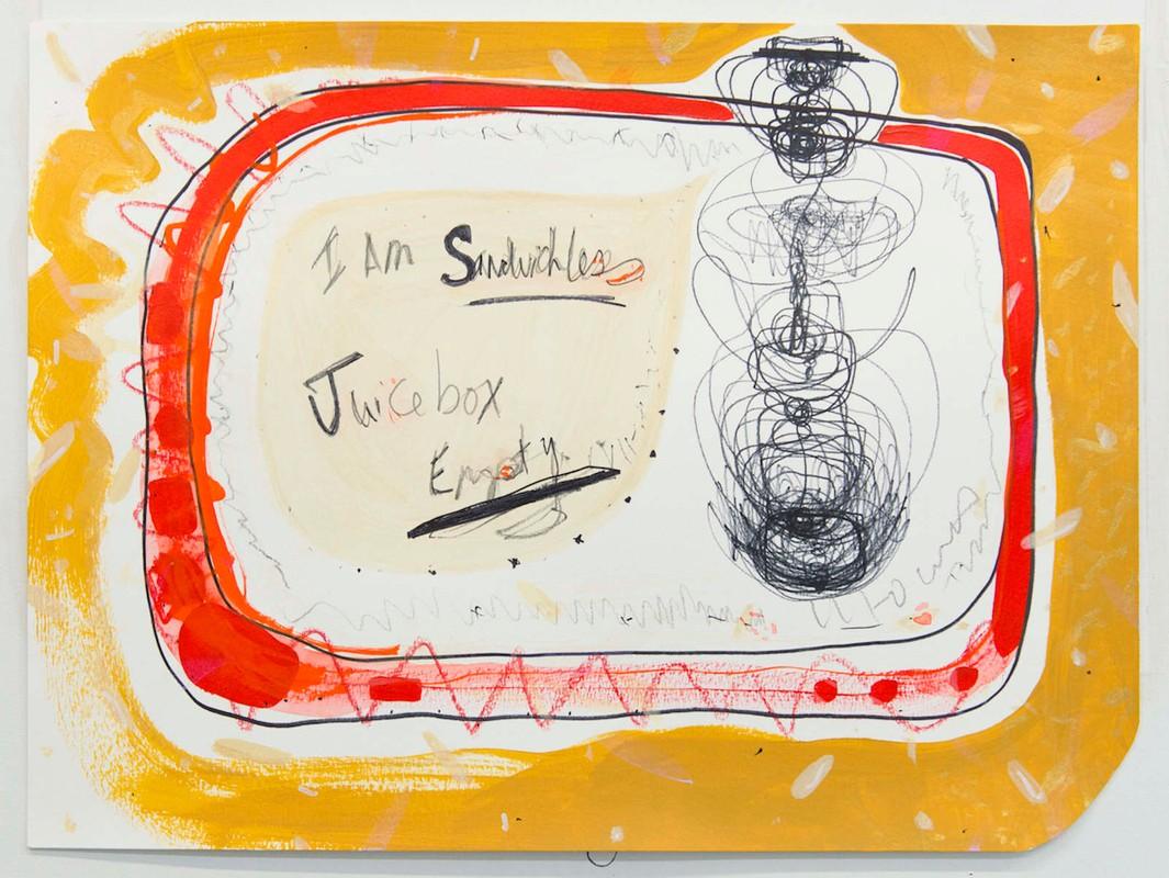 Artwork – Sandwich-less, Juice box Empty, 2016