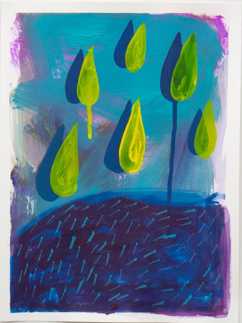 """Artwork – Jen Shepard, """"Drops 2"""", 2020"""