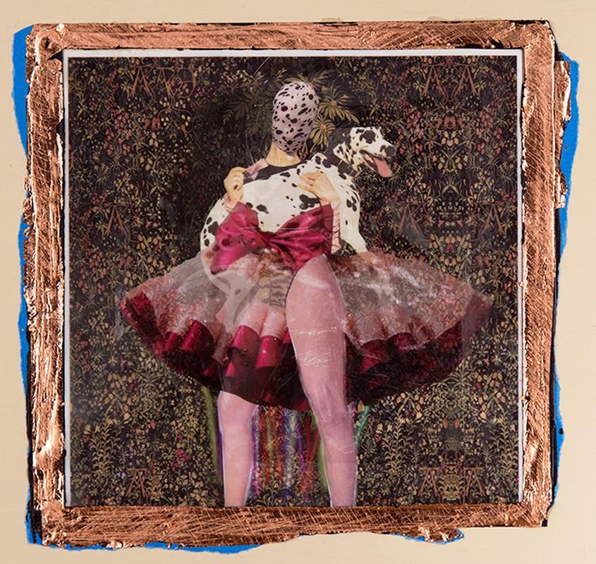 Artwork – Dalmatian Girl With a Peer, 2018