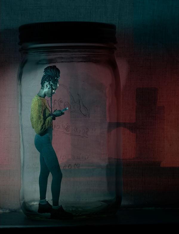 Artwork – Texting, 2020