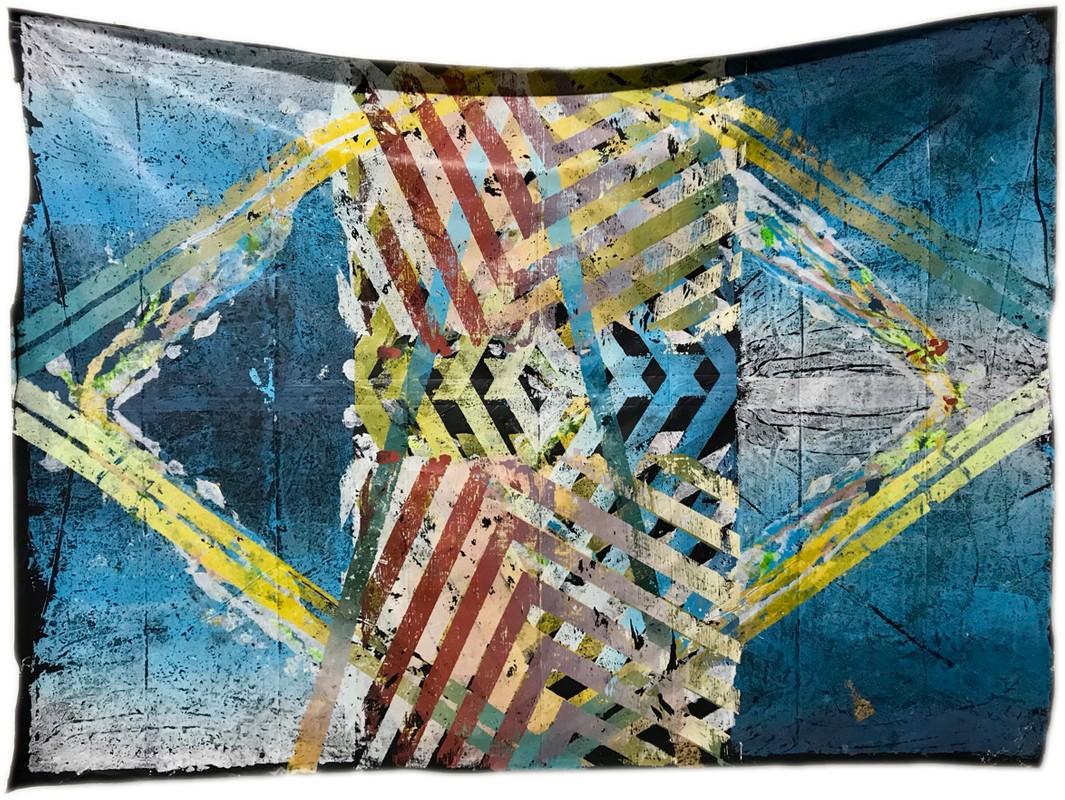 Artwork – Vitruvian Contractor Bag #8, 2018