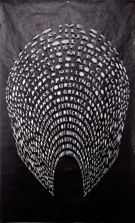 Artwork – Millagro, from Left Hanging series, 2018