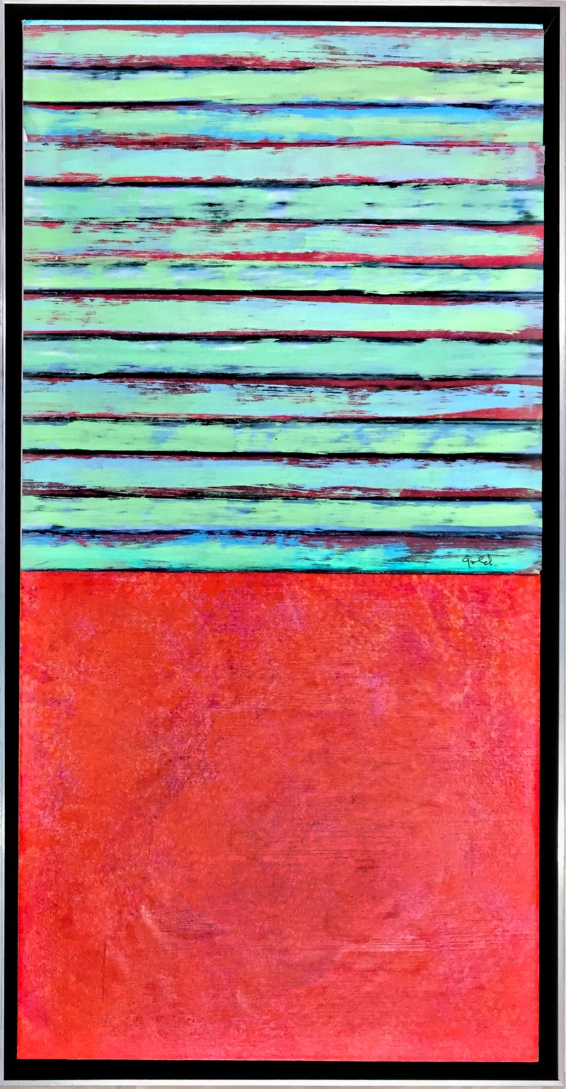Artwork – Green and Red, 2019
