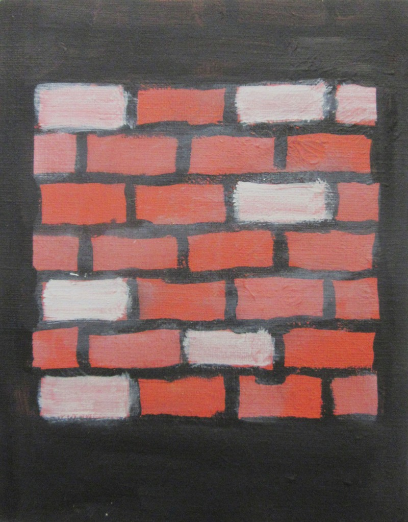 Artwork – Brick Wall, 2016