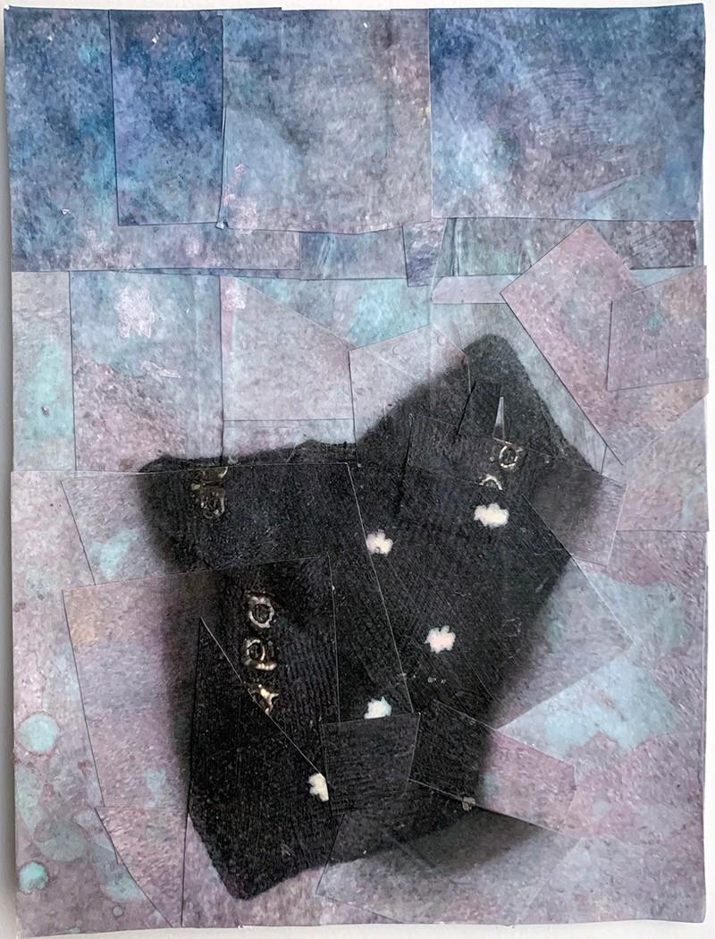 Artwork – TZIREL KAMINETZKY  :  Domestic Material : Baby Sock, 2020