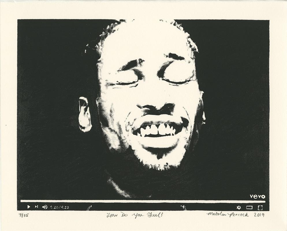Artwork – Malcolm Peacock, Luis Maldonado, and Young Sun Han – Print Portfolio (selection of 3 images), 2019
