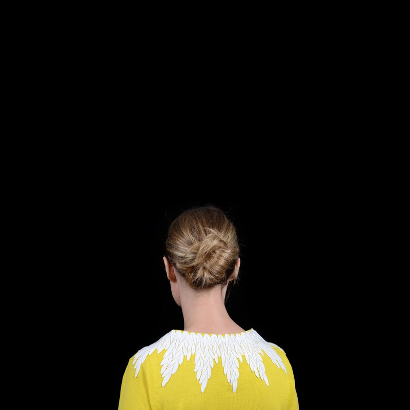 Artwork – Untitled (yellow sweater) from the series, Hide the Sun, 2017