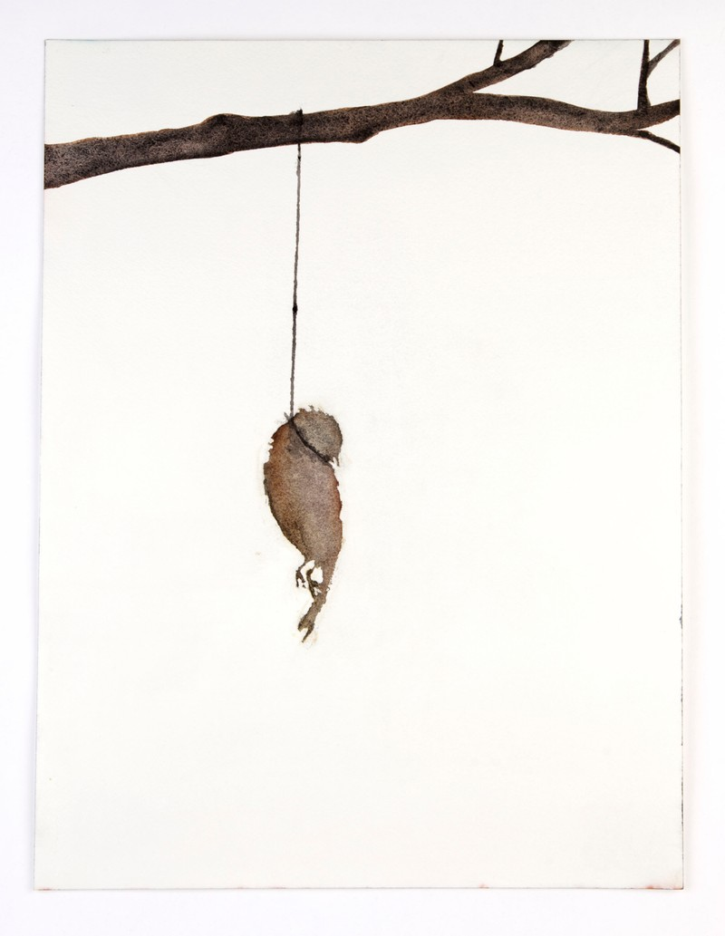 Artwork – Hanging Bird (1), 2006
