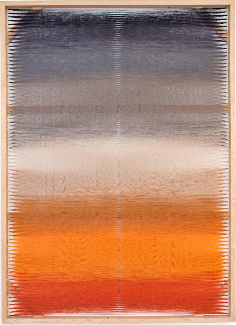 Artwork – Woven Screen (Fog Gradient), 2018