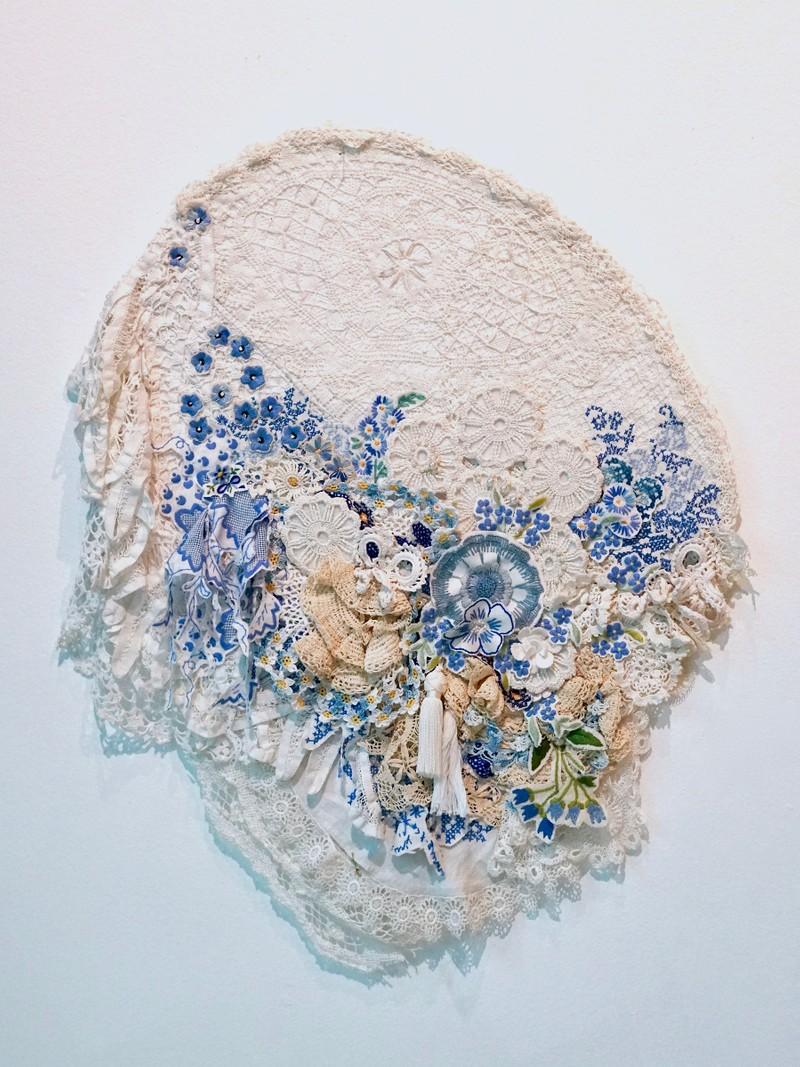 Artwork – Bloom blue, 2018
