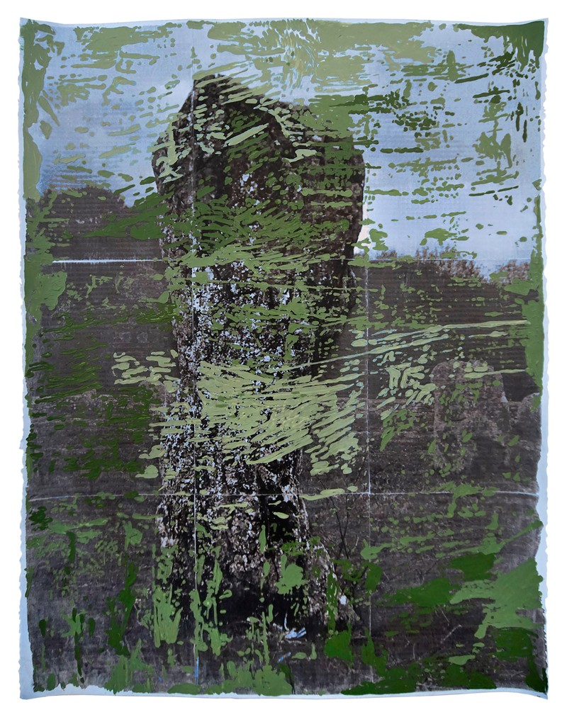 Artwork – Carnac in Green, 2020