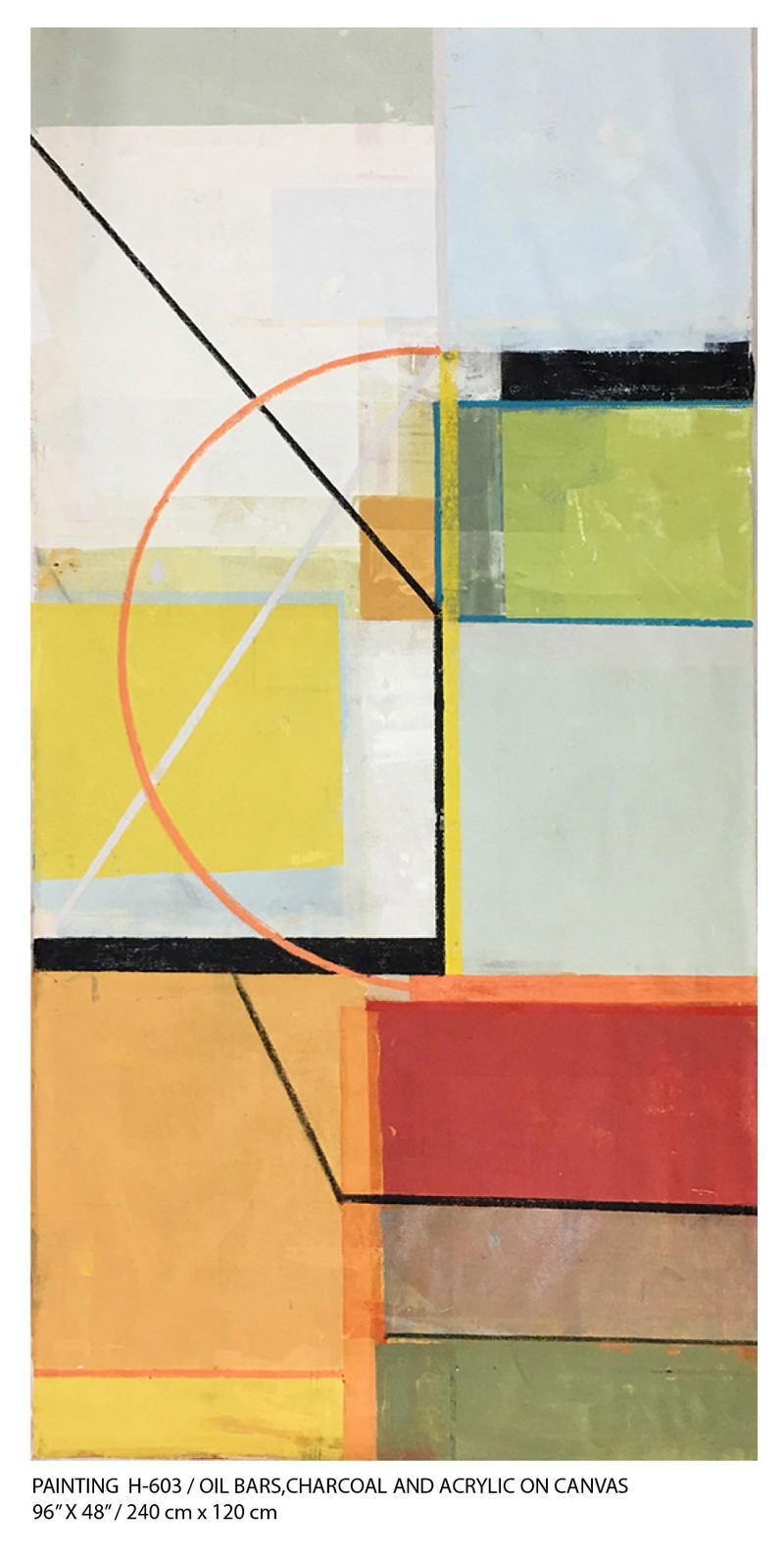 Artwork – Painting H-603, 2020