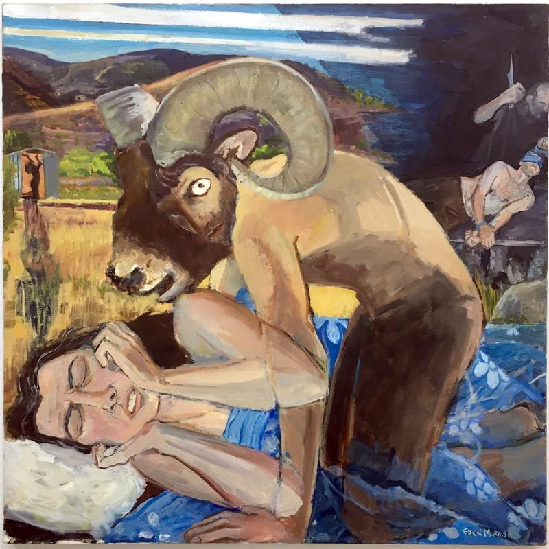 Artwork – EDEN MORRIS  :  Sarah's Nightmare, 2020