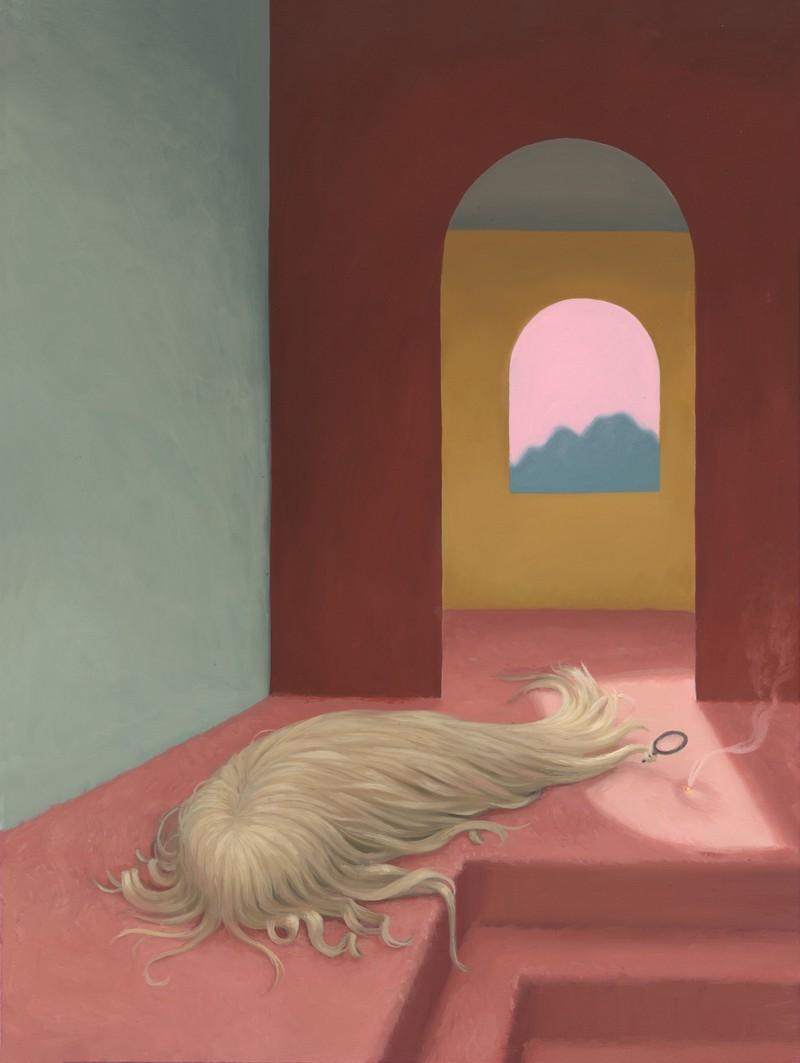 Artwork – Blonde Sets Fire, 2017