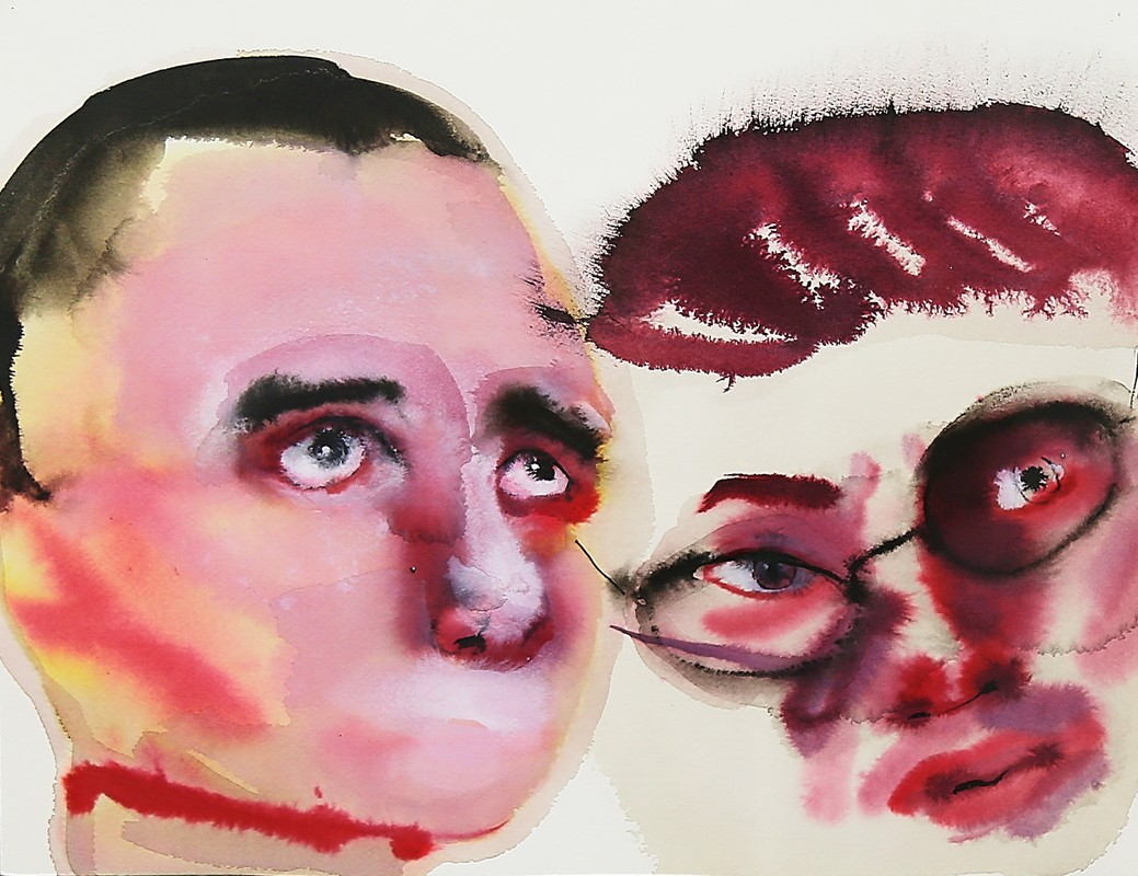 Artwork – Untitled (double portrait), 2000