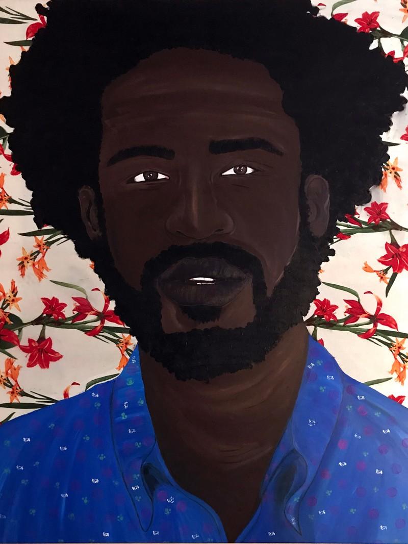 Artwork – Idris Black, K-Man, 2019