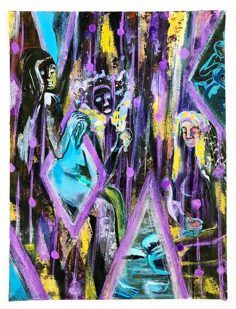 Artwork – Hammam de Paris, 2020