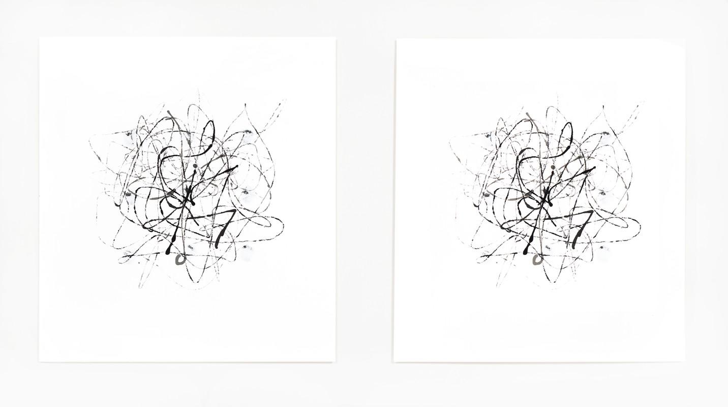Artwork – Marble Drawing 20.01, 2010