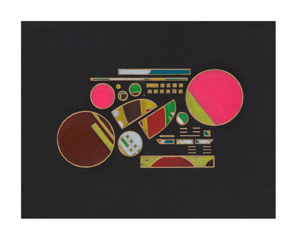Artwork – Covid Color Study  3.16.20 - Print, 2020