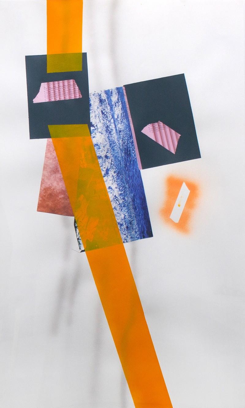 Artwork – Horizon Orange, 2019
