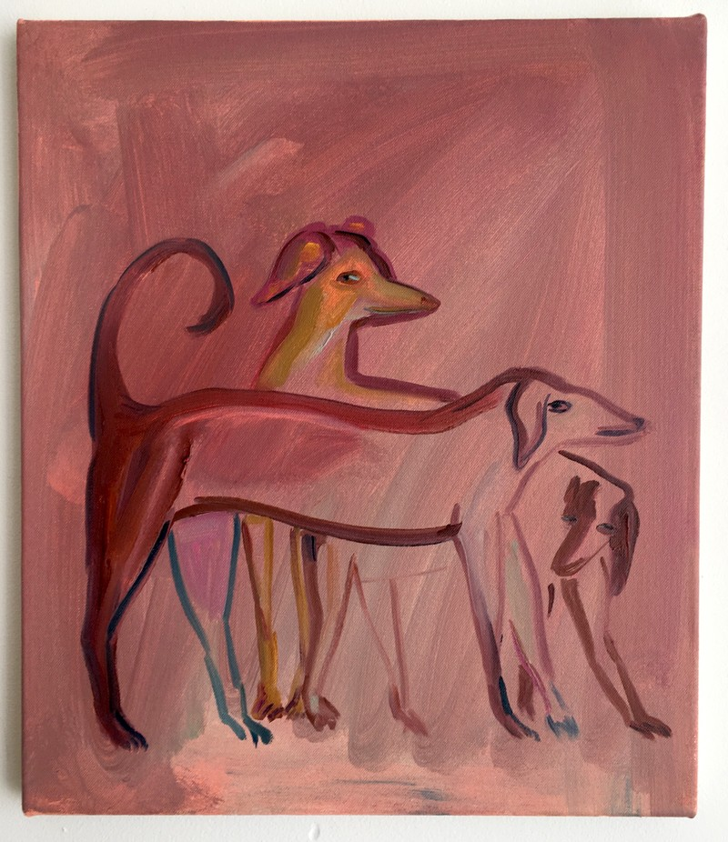 Artwork – Pink dogs, 2018
