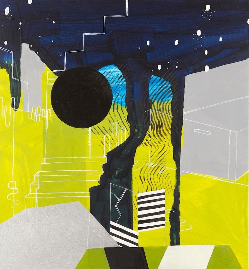 Artwork – Untitled (blue/green landscape), 2011