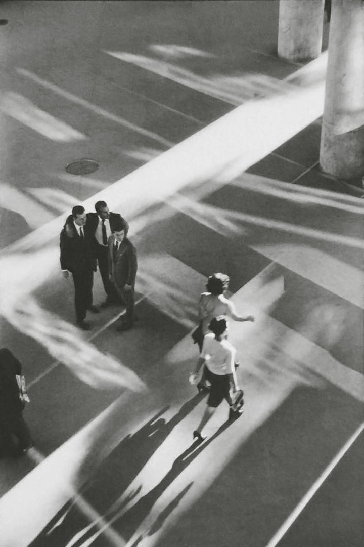 "Artwork – Rene Burri, ""In the Ministry of Health, Rio de Janeiro"", 1960"