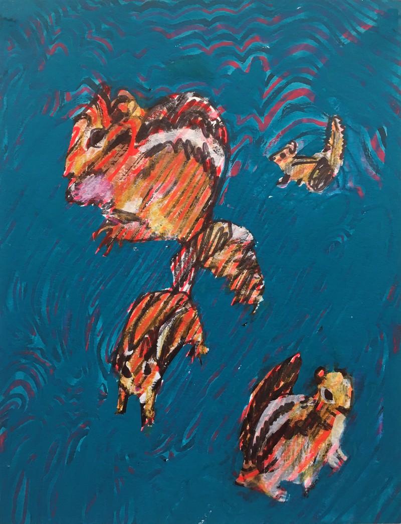 Artwork – SARAH COOTE  :  Alone, 2020