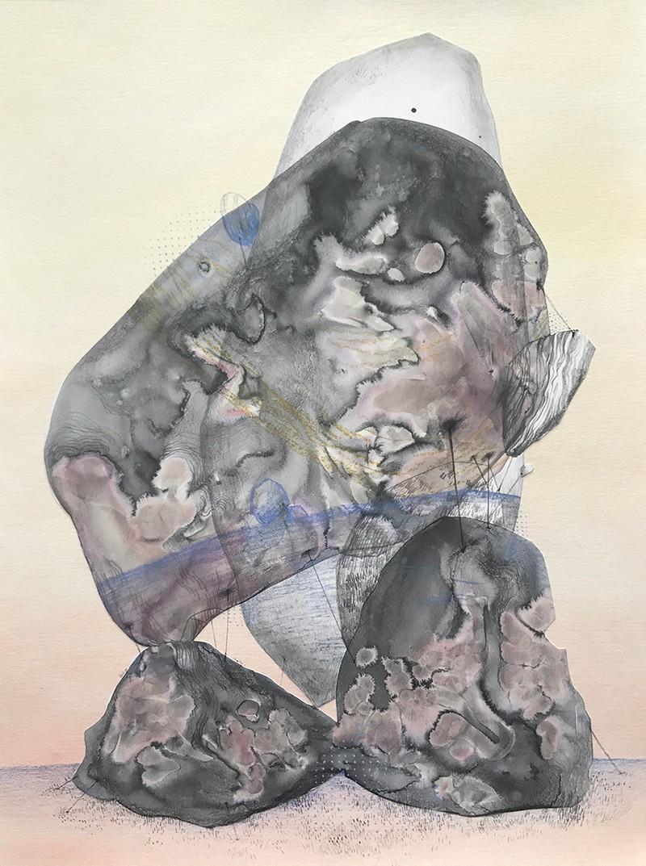 Artwork – A Stone / A Body, 2020