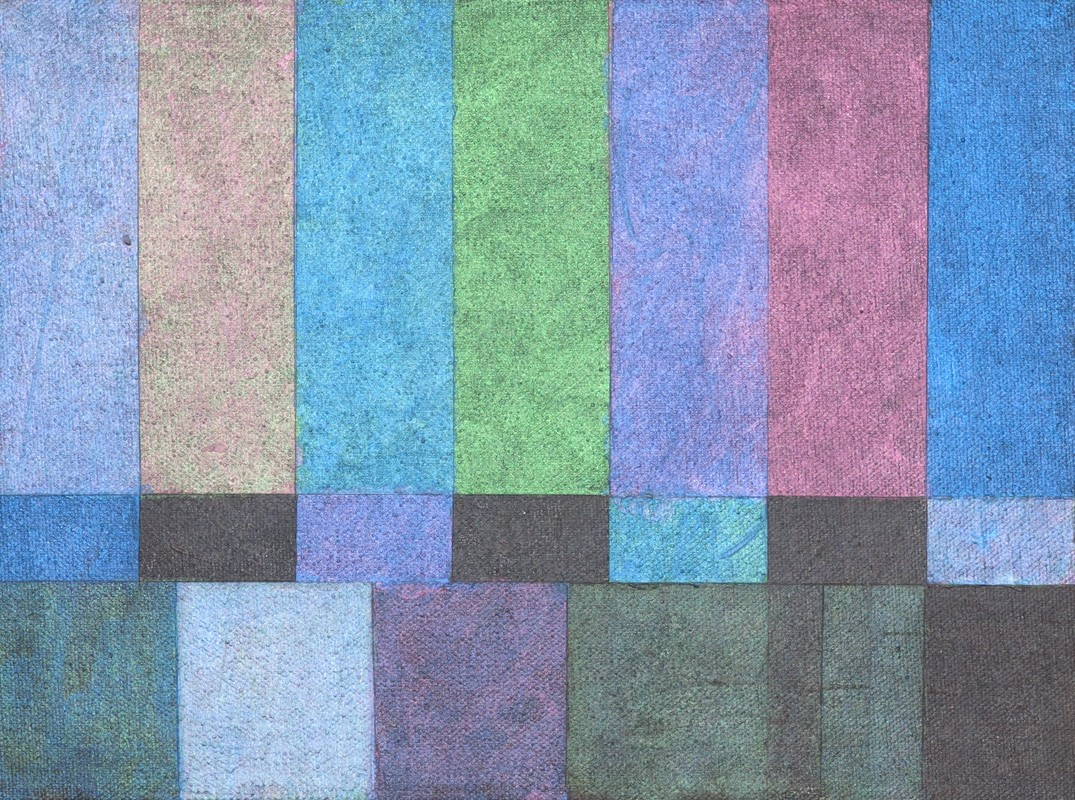Artwork – TV Screens NTSC RGB 1 out of 6, 2017, 2017