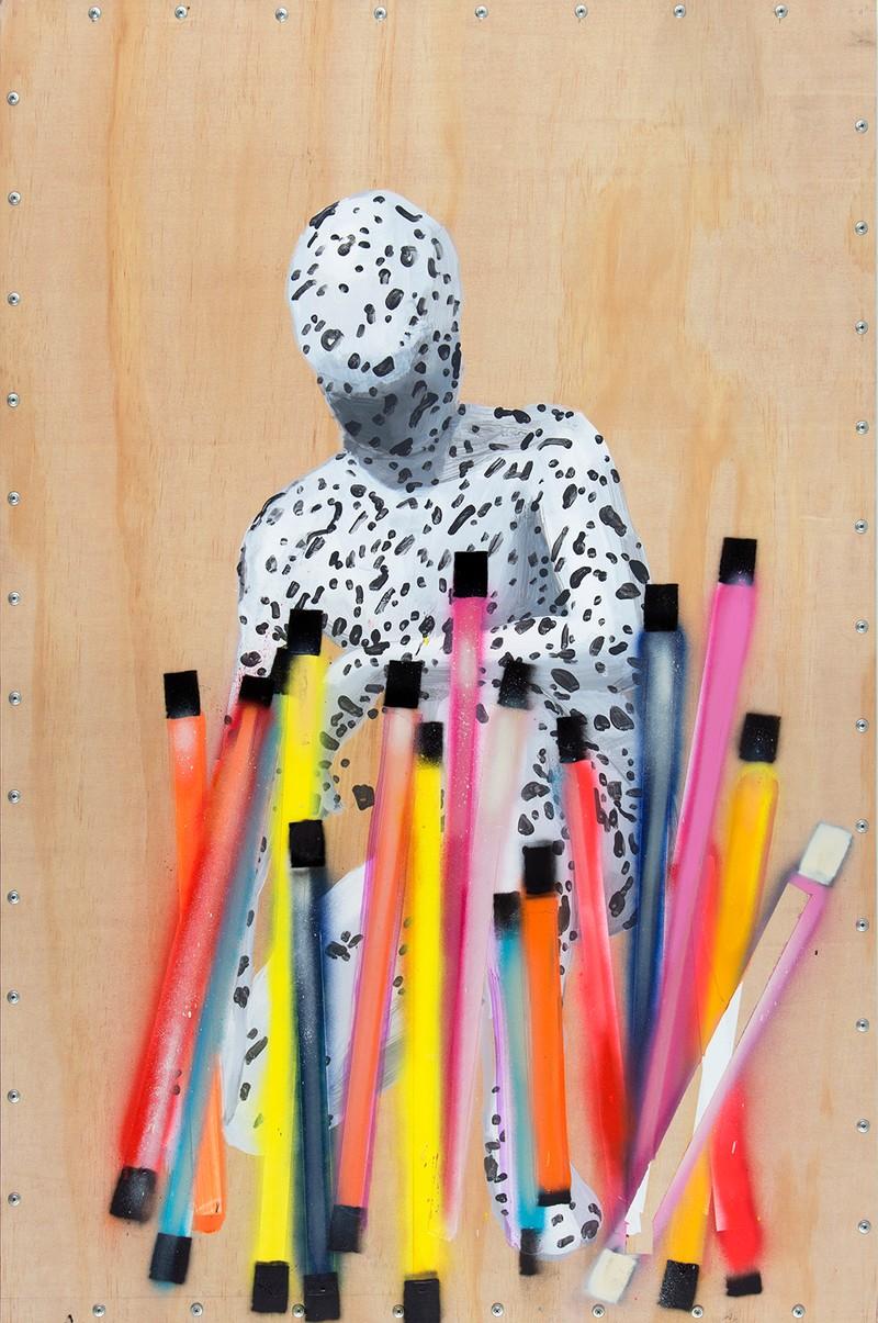 Artwork – Dalmatian Man no.2., 2019