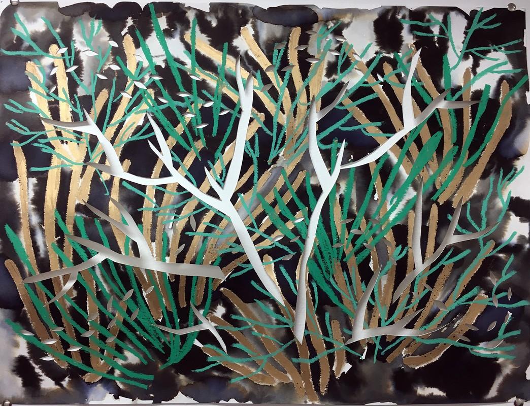 Artwork – Vanishing Coral (gold), 2020