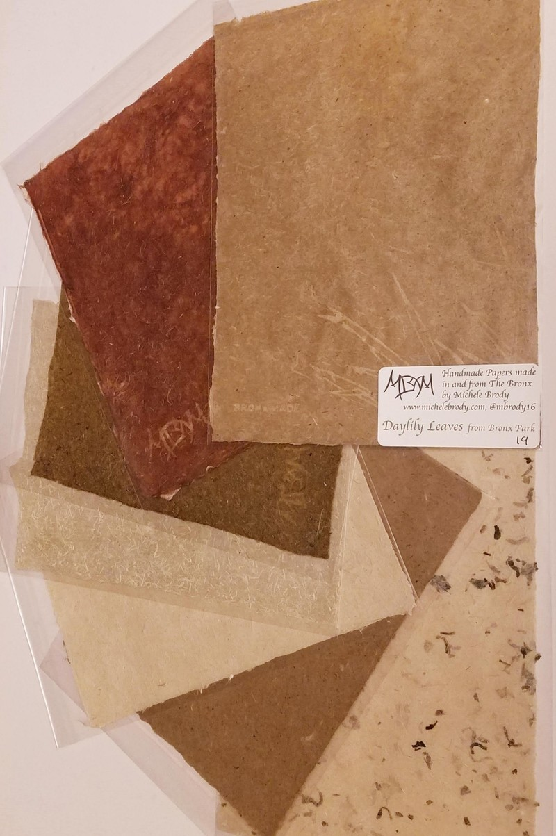 Artwork – Botanical Handmade Paper sheets, 2020