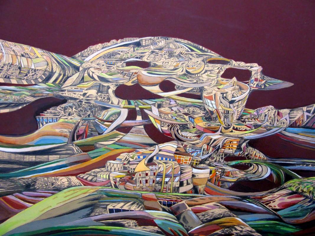 Artwork – Bryan Stryeski, Landopolis, 2010
