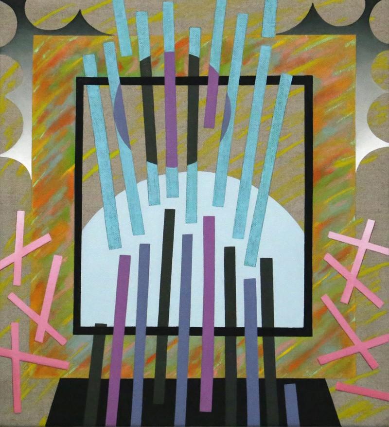 "Artwork – Stacie Johnson, ""Rhythm Sticks"", 2019"