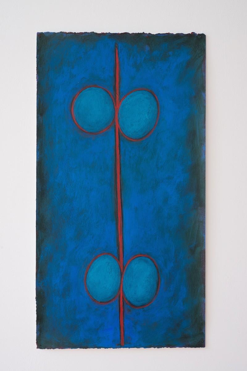 Artwork – Totem: Blue, 2019