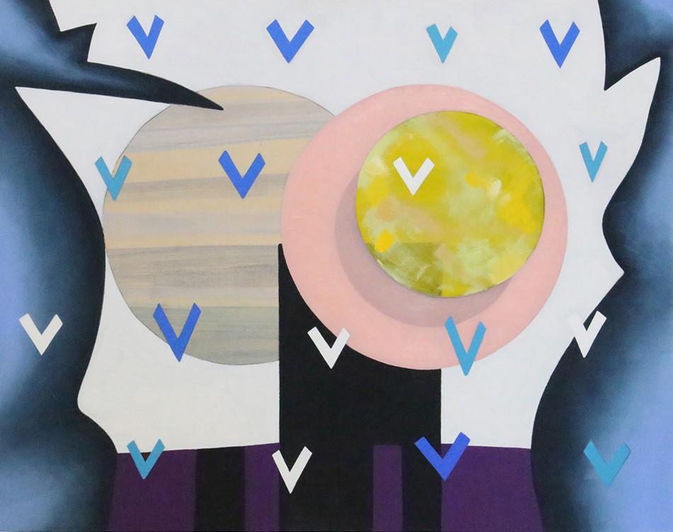 "Artwork – Stacie Johnson, ""Sunset"", 2018"