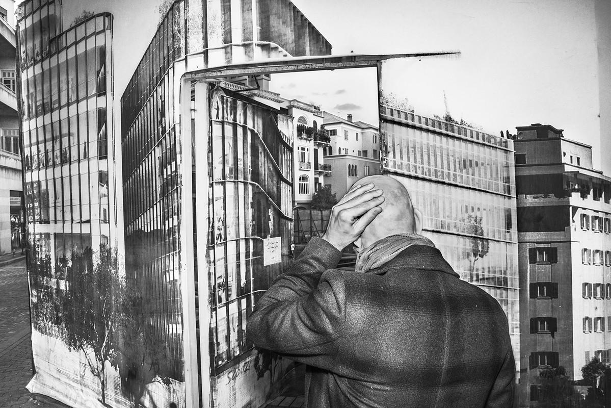 "Artwork – Manal Abu-Shaheen, ""Saifi Village. Beirut, Lebanon"", 2019"