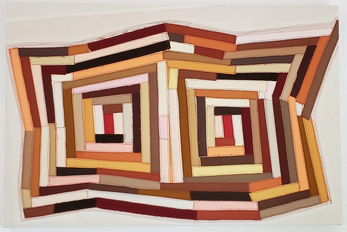 Artwork – Americana Quilt #24, 2020