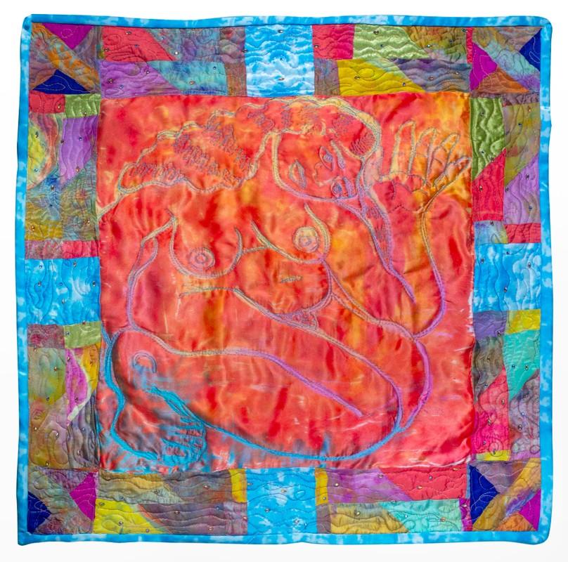 "Artwork – Emily Oliveira, ""Tomb-World Guardian"", 2020"