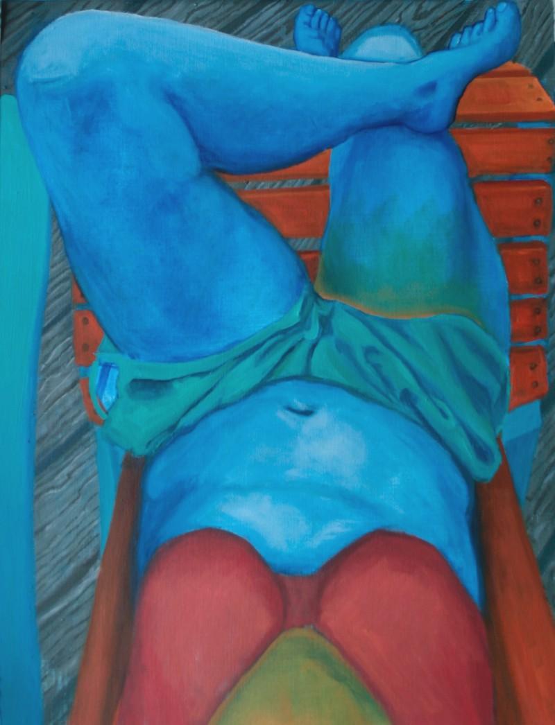 Artwork – Blue Sunbather, 2019