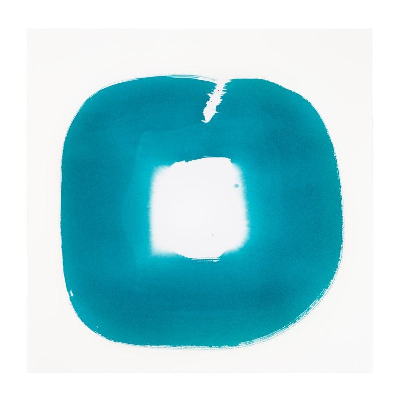 Artwork – Aperture in Turquoise XXII, 2015