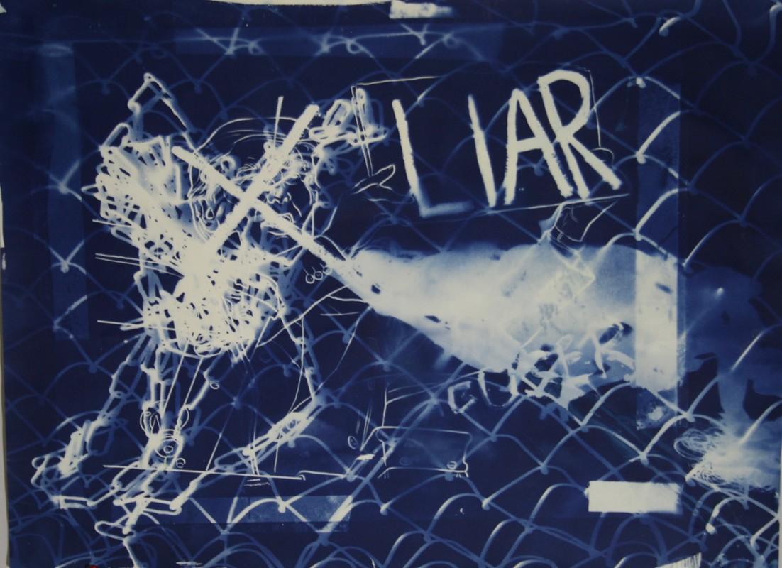 Artwork – Fenced in Liar, 2020