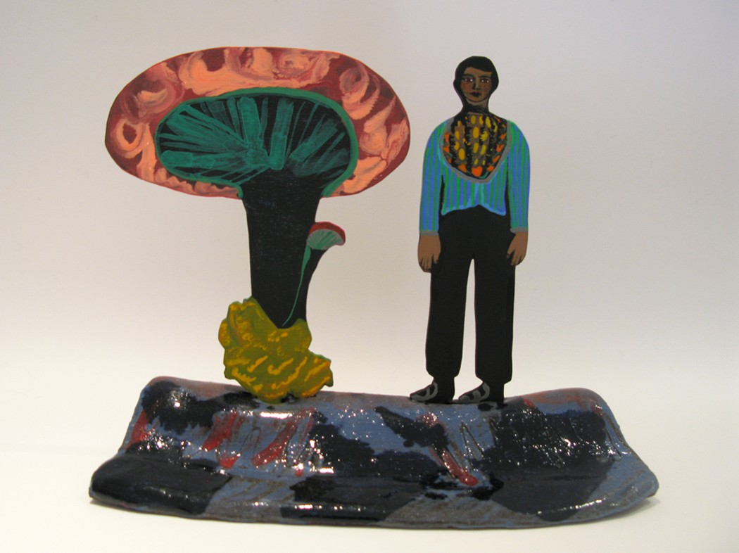 Artwork – Mushroom and Guardian, 2018