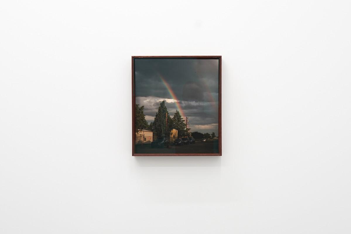Artwork – Double rainbow in Marfa, 2016