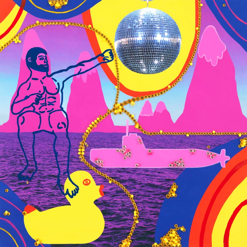 Artwork – James Jaxxa, Feeling Jubilant, 2020