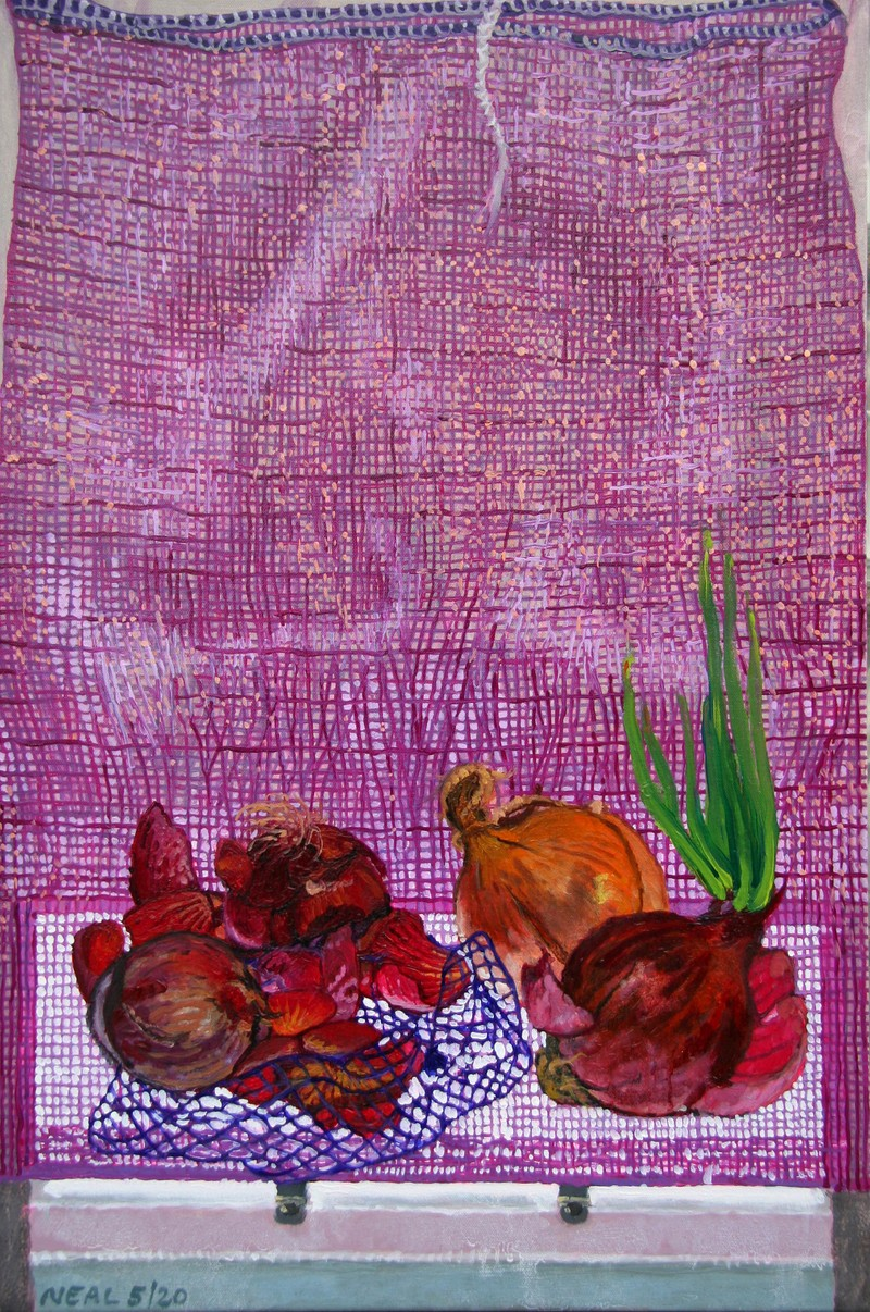 Artwork – Red Onions, 2020