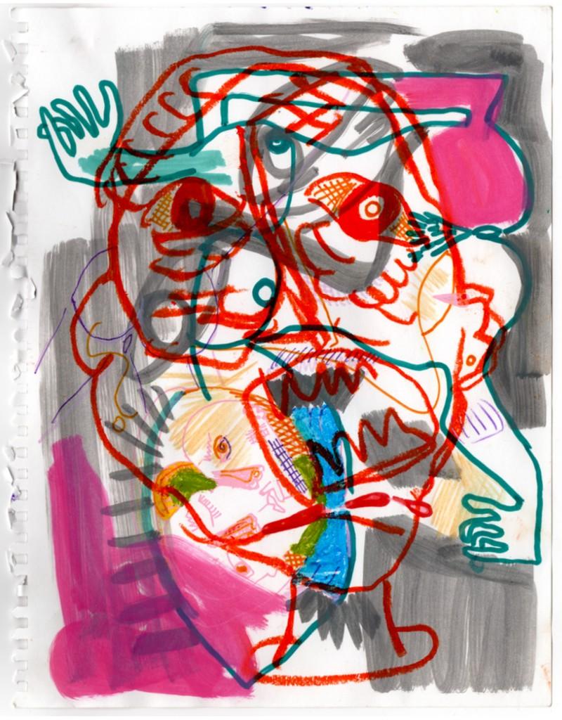 Artwork – Bodies: Arms As Feet, Feet As Arms, 2016