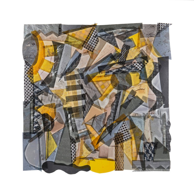 Artwork – GREY WITH TOUCHES OF YELLOW, 2017