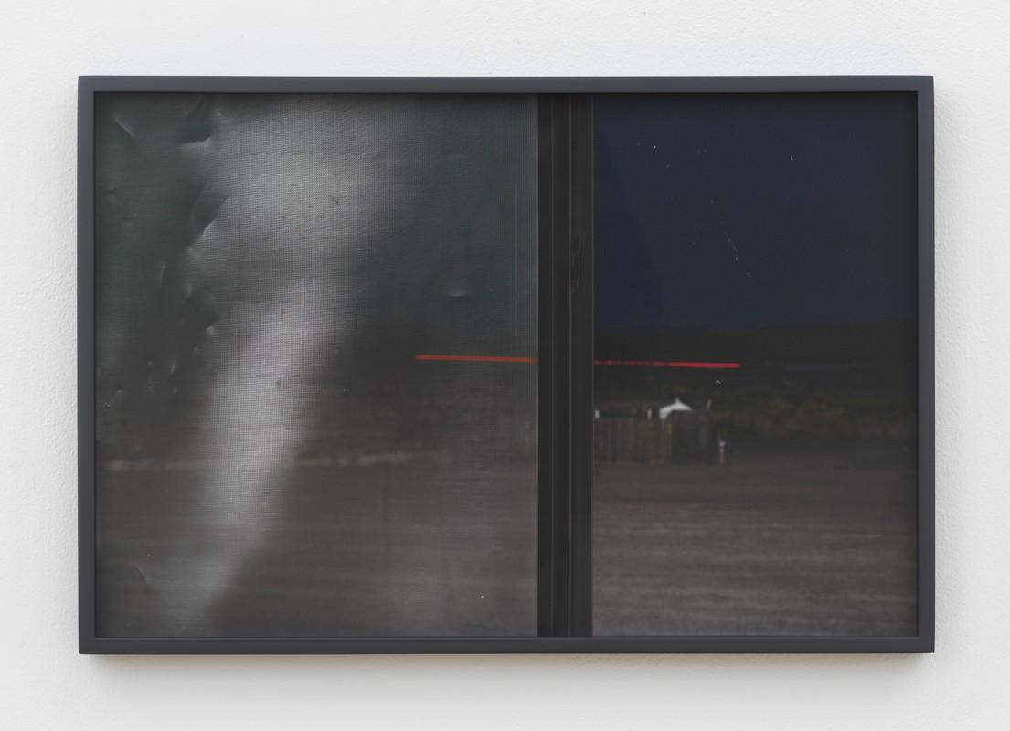 Artwork – Night Window, Salton Sea (Broken Screen), 2020